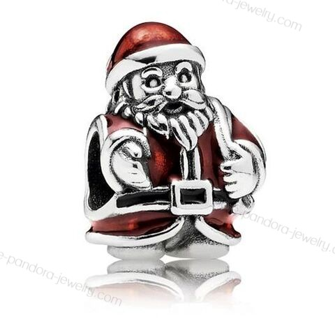 Pandora Father Christmas Red Enamel Charm At a Discount - Pandora Father Christmas Red Enamel Charm At a Discount-31