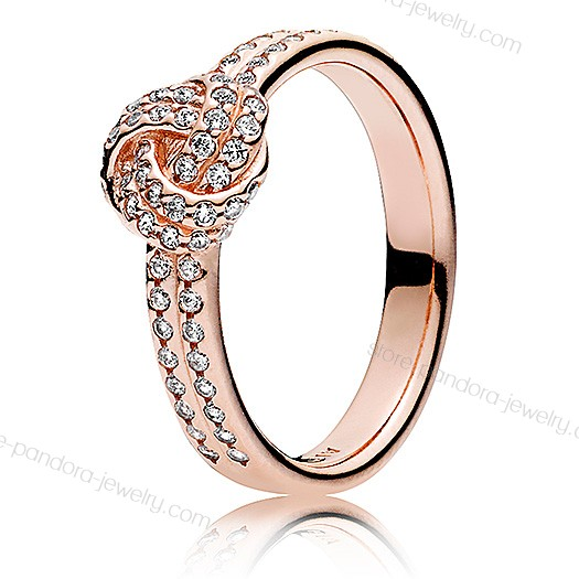 Pandora Rose Sparkling Love Knot Ring With Cz Price At a Discount 40% - Pandora Rose Sparkling Love Knot Ring With Cz Price At a Discount 40%-01-0