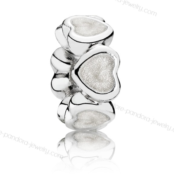 Pandora Abundance Of Love Spacer With Enamel With The Best Price - Pandora Abundance Of Love Spacer With Enamel With The Best Price-01-1