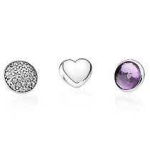 Pandora February Birthstone Petites Locket Charms At Lower Price-20
