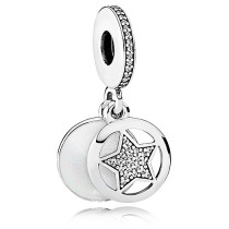 Pandora Friendship Star Hanging Pendant Charm With Enamel With Reliable Quality-20