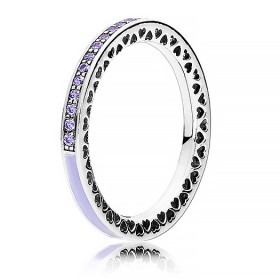 Pandora Purple Radiant Hearts Of Pandora Ring At The Best Price