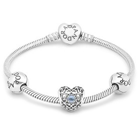 Pandora Moments March Birthstone Bracelet Price At a Discount